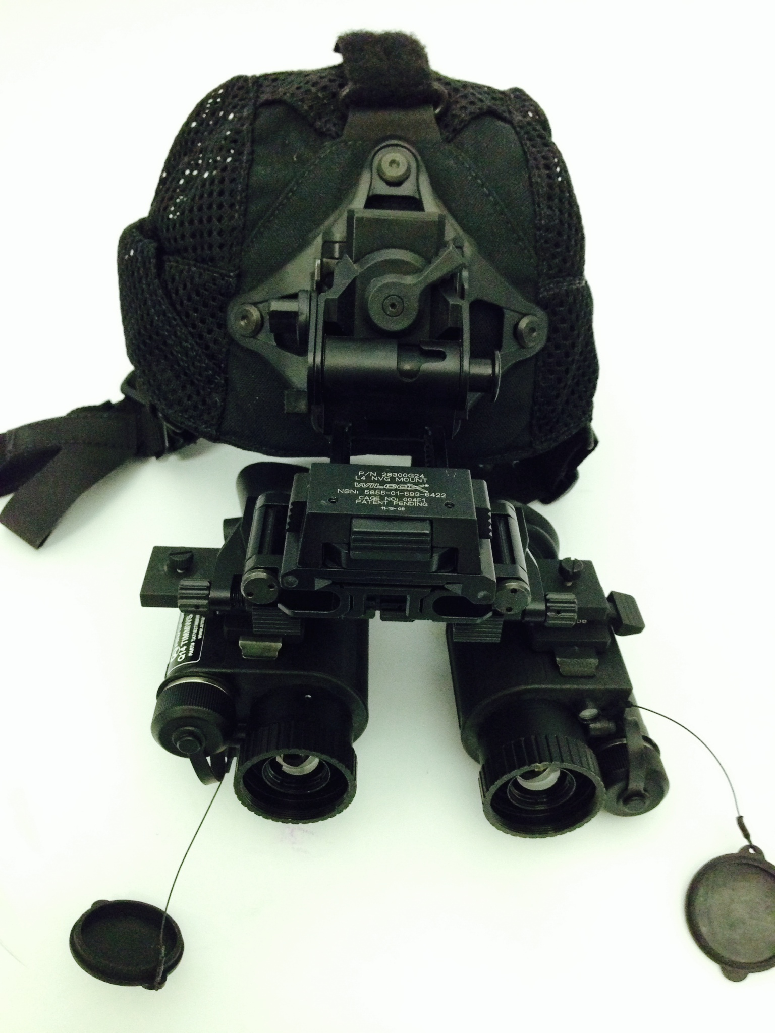 hnd held FLIR and head mounted thermal FLIR Imager