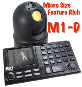 The Complete M1-D Micro FLIR PTZ UAV Thermal Camera System