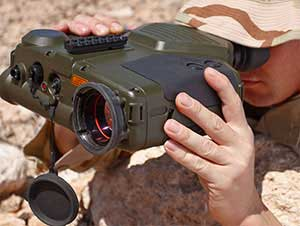 Handheld military thermal imaging system