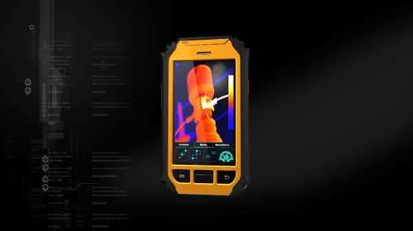 Therma-Pad Tablet FLIR android mobile thermal camera provides excellent thermal imaging