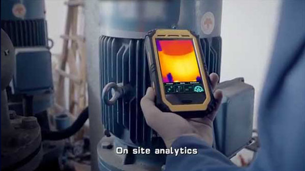 Therma-Pad Tablet FLIR android mobile thermal camera works anywhere you need it