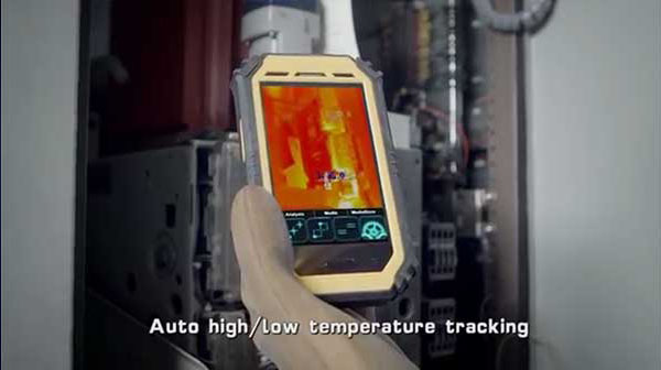 Therma-Pad Tablet FLIR android mobile thermal camera temperature tracking