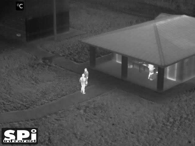 FLIR Thermal IR gimbal camera