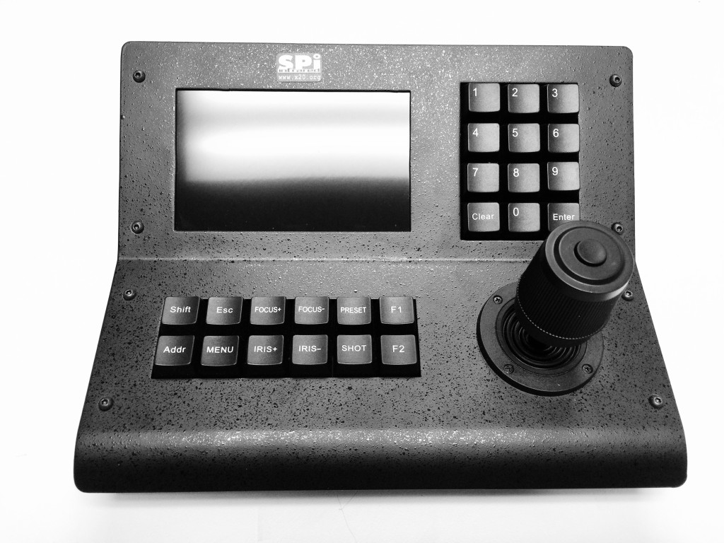 PTZ_FLIR_THERMAL_CAMERA_CONTROLLER_KEYBOARD_MONITOR_JOYSTICK