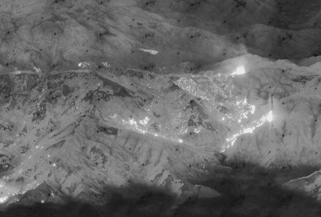 Aerial Uav drone thermal flir airborne image