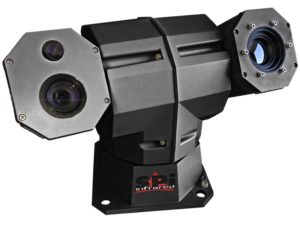 X27 integrated into multi sensor PTZ EO-IR camera system
