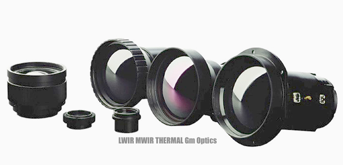 cooled and uncooled zoom telephoto long range FLIR thermal imaging optics and lenses