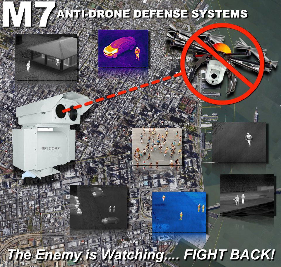 Anti Drone Uav Detection Defense Systems Spi Corp
