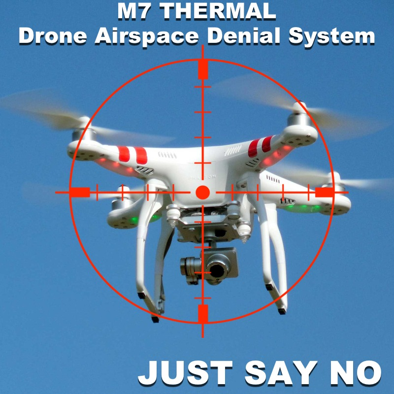 anti drone uav interdiction thermal camera