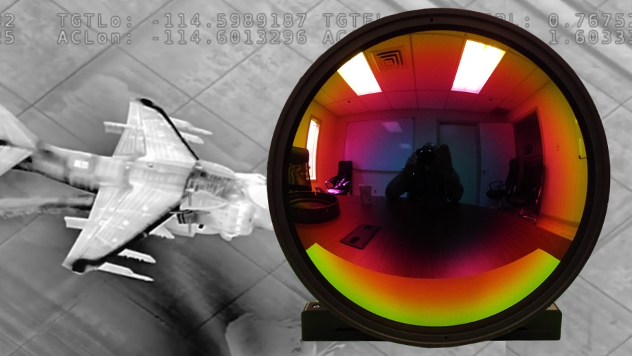 cooled thermal camera lens