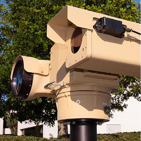 long range FLIR PTZ security camera