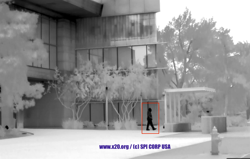 m9 ptz gyro stabilized cooled mwir thermal imaging security camera
