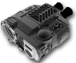 Elanus multi spectral thermal imaging sensor fused binocular system