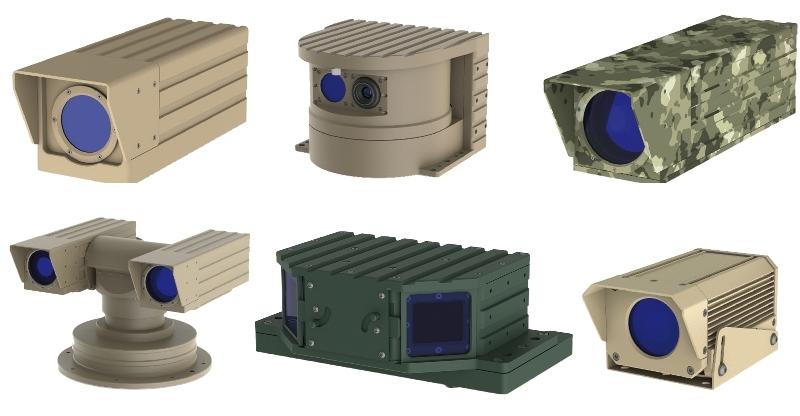 Custom CMOS CCD IR camera development