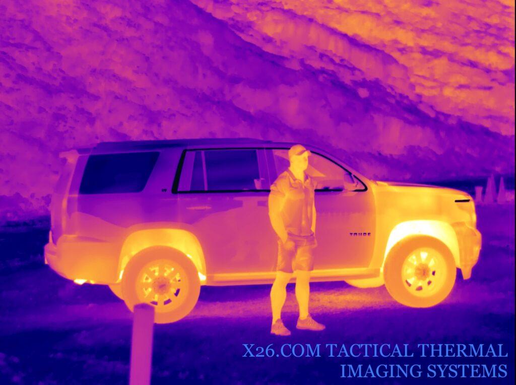 Long range thermal cameras