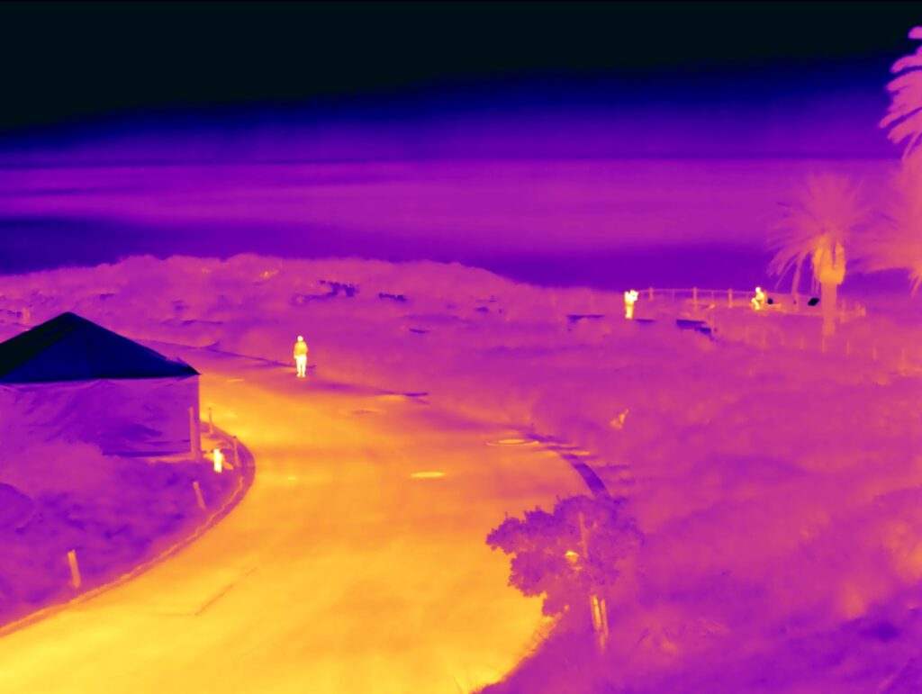 Drone thermal camera